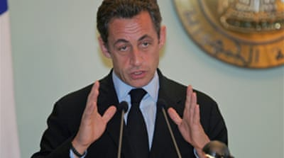 Sarkozy in Colombia hostage offer