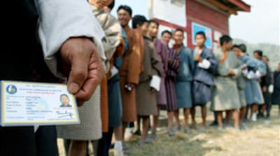 Bhutan says first polls successful