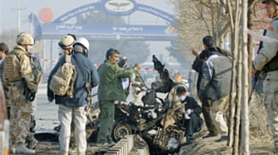 Afghan blast hits as Gates visits