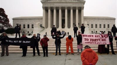 US supreme court reviews Guantanamo