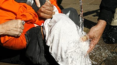 US senate backs waterboarding ban