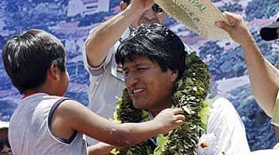 Bolivia leader may call snap poll