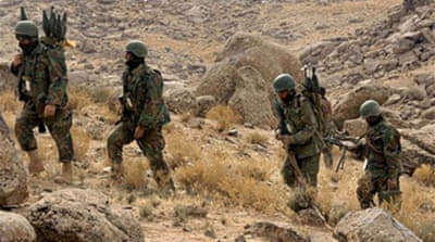Joint assault on Taliban-held town