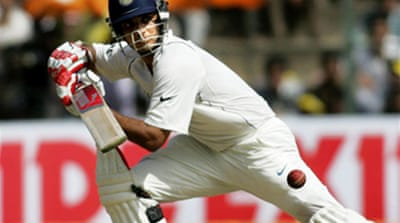 Ganguly puts India well on top