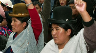 Bolivia assembly backs constitution