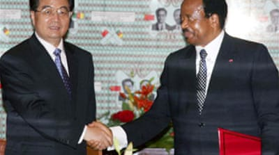 China offers Cameroon $100m in aid