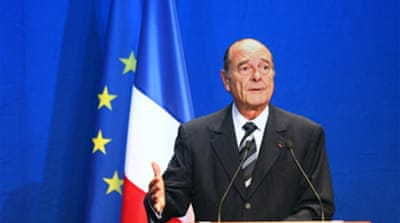 Chirac says no to smear probe