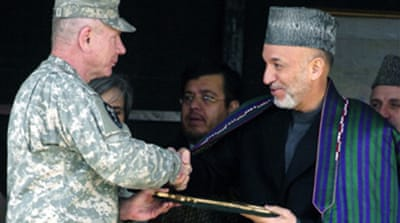 Afghan army receives US boost