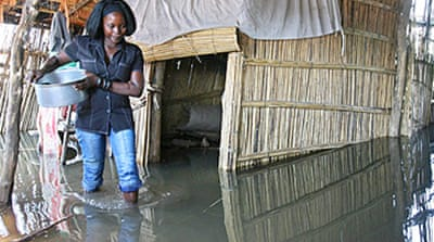 Mozambique floods displace 68,000