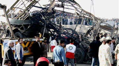 Iran bomb attack 'kills 11' guards