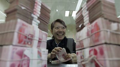 China currency row heats up in US