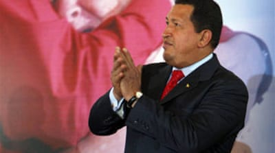 Chavez threatens supermarket sweep