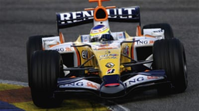 Renault off the pace