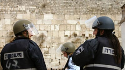 Israel ups policing at al-Aqsa site