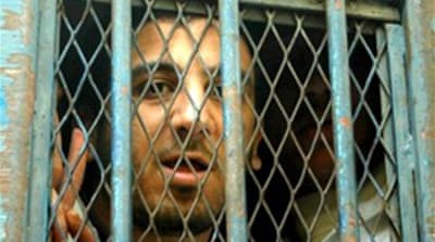 Egypt blogger maintains innocence