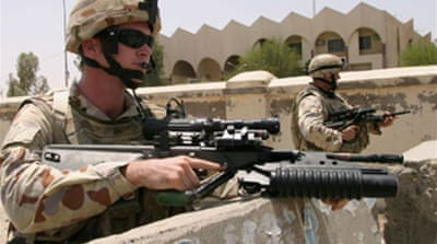 Australia rules out Iraq withdrawal
