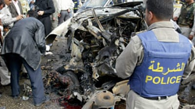 Car bomb explodes in Najaf