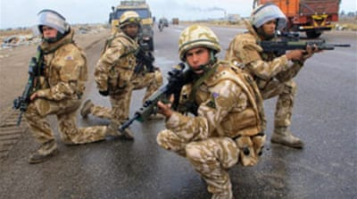 Iraqis welcome British withdrawal