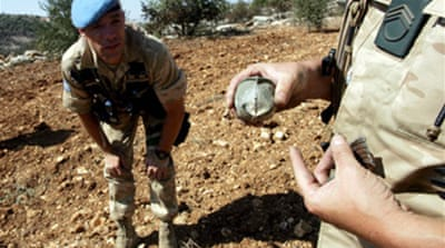Nations urged to ban cluster bombs