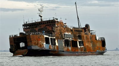 Indonesia ferry wreck sinks