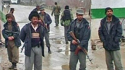 Taliban hit Afghan securitymen