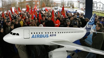 Airbus announces 10,000 job cuts