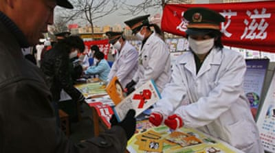 China praised for AIDS fight