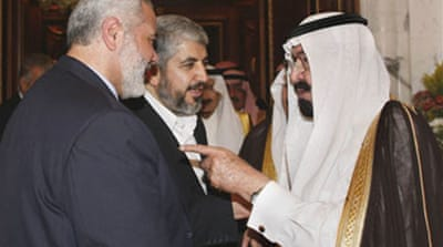 Palestinians hold talks in Mecca