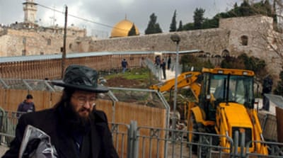 Protests as al-Aqsa dig continues