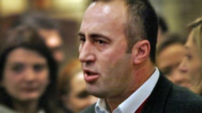 Kosovo leader repeats innocent plea