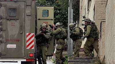 Fresh Israeli raids in Nablus