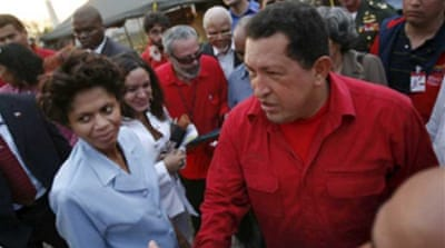 Chavez underlines support for Haiti