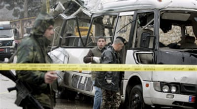 Lebanon: Syrians admit bus bombing