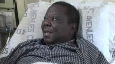 Tsvangirai has 'cracked skull'