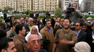 Egypt arrests opposition supporters