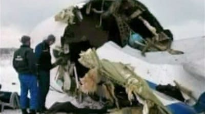 Seven die in Russian air crash