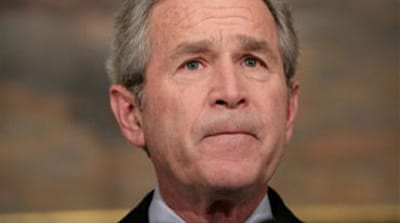 Bush shields aides in lawyer furore
