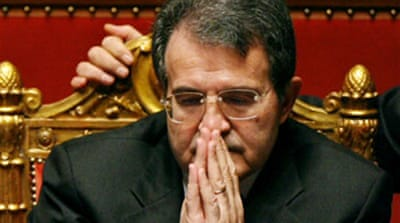 Prodi faces second confidence vote