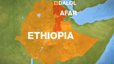 Europeans 'kidnapped' in Ethiopia
