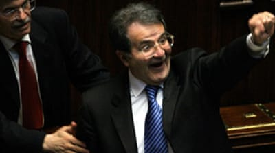 Italy's Prodi wins second vote