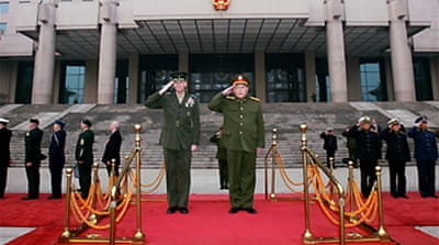 US general aims to boost China ties