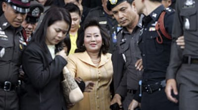 Thaksin's wife back in court