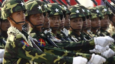 Myanmar vows to 'crush' opponents