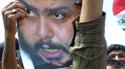 Al-Sadr calls for anti-US protests