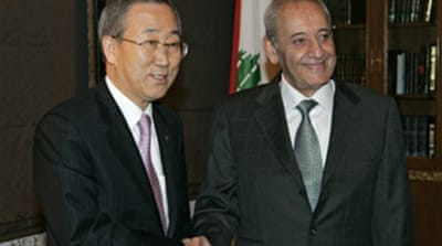 UN chief urges Lebanon dialogue