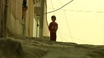Life under siege in Iraqi town