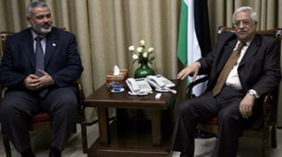 Abbas: Unity government next week