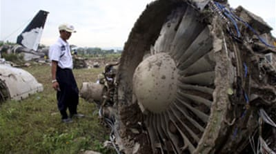 Pilot blamed for Garuda crash
