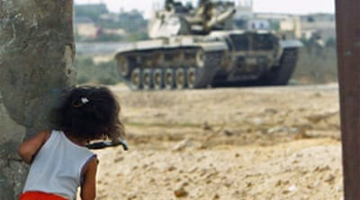 Israelis 'use girl as human shield'
