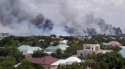 Somalia fighting enters fourth day